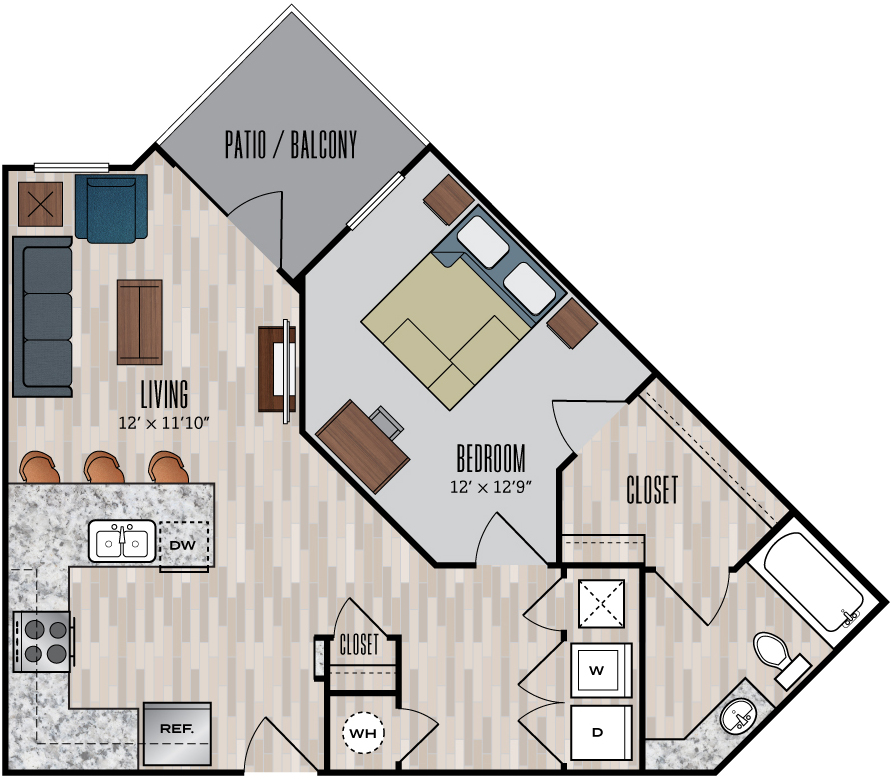 848 Mitchell floor plan